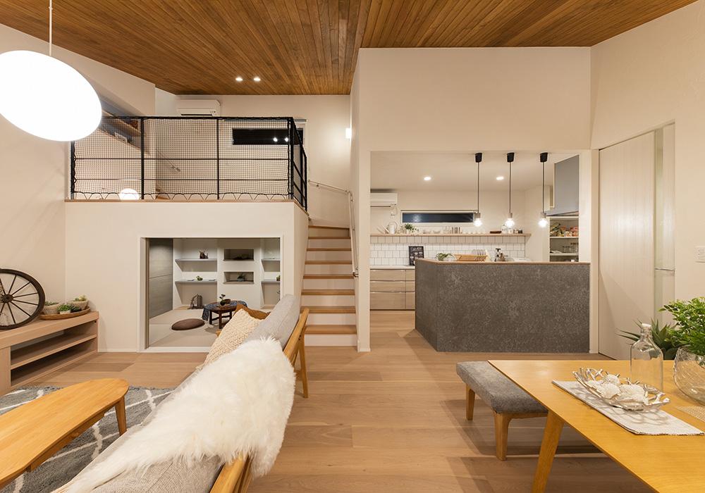 Skip floorで家族との繋がりを楽しむ家